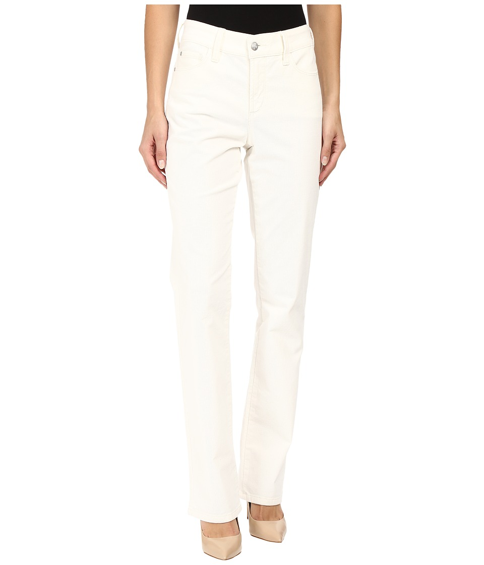 NYDJ - Marilyn Straight Jeans in Corduroy (Winter White) Women's Jeans