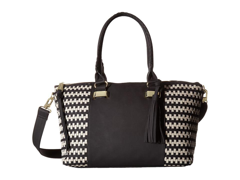 Steve Madden - Bwizz Satchel (Black/Bisque) Satchel Handbags