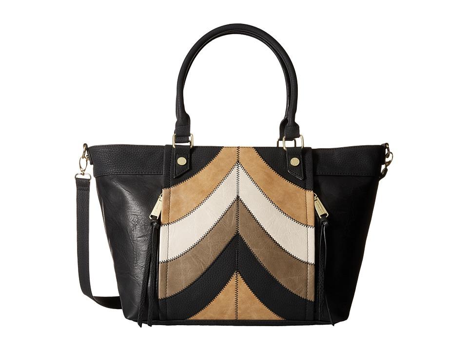 Steve Madden - Bandie Tote (Black/Taupe/Grey/Bone) Tote Handbags