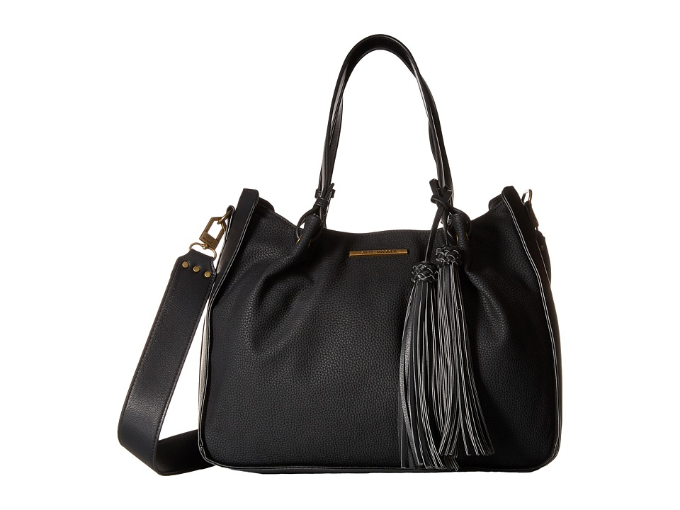 Steve Madden - Balex Satchel (Black) Satchel Handbags
