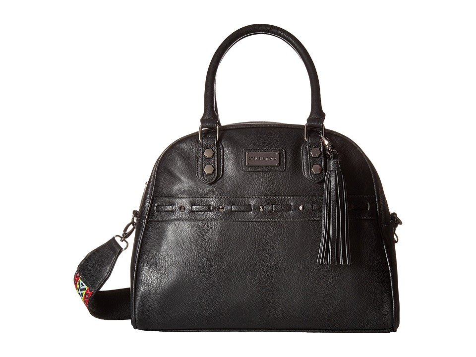Steve Madden - Bgloria Dome Satchel (Black) Satchel Handbags