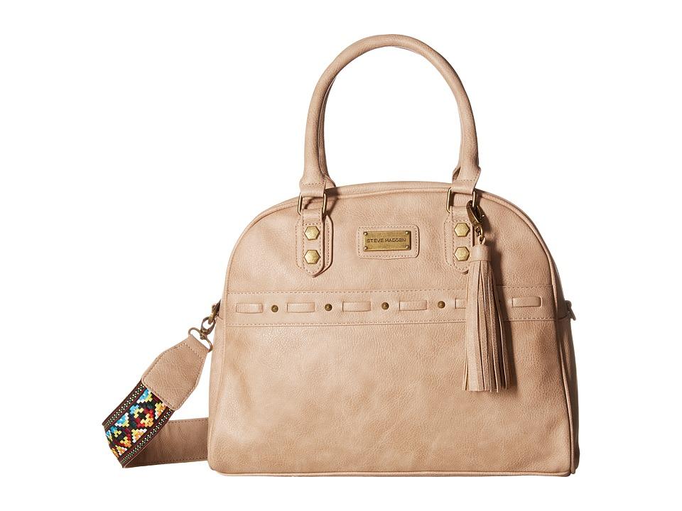 Steve Madden - Bgloria Dome Satchel (Taupe) Satchel Handbags