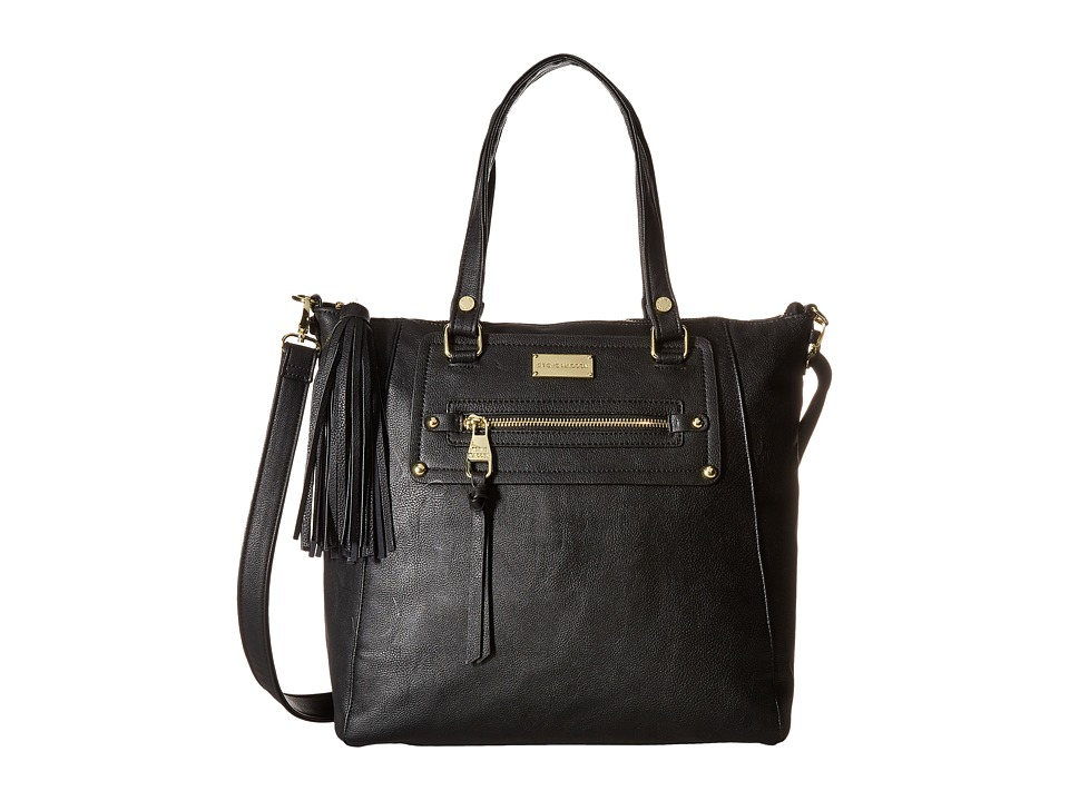 Steve Madden - Bolive Tote (Black/Black) Tote Handbags
