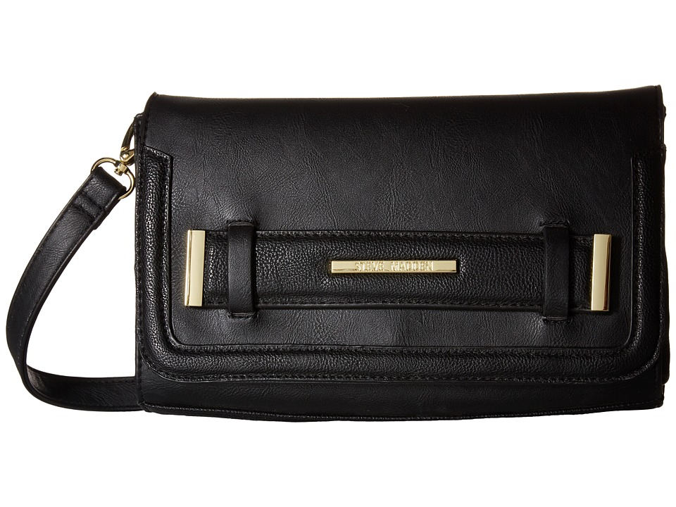 Steve Madden - Bjane 2 Shoulder Bag (Black/Black) Shoulder Handbags