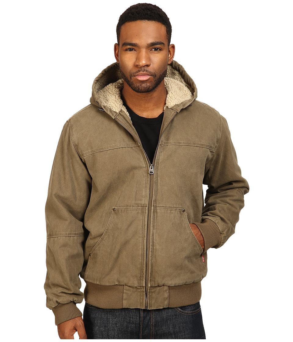 Levi's(r) - Workwear Hoodie (Tan) Men's Coat