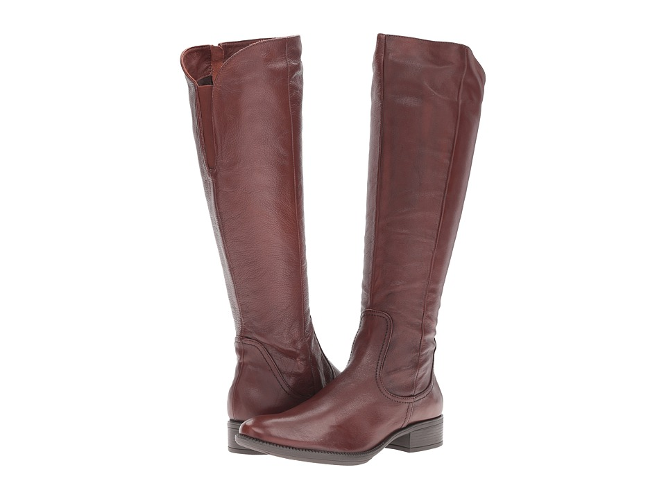 Spring Step - Deph (Mahogany) Women's Pull-on Boots