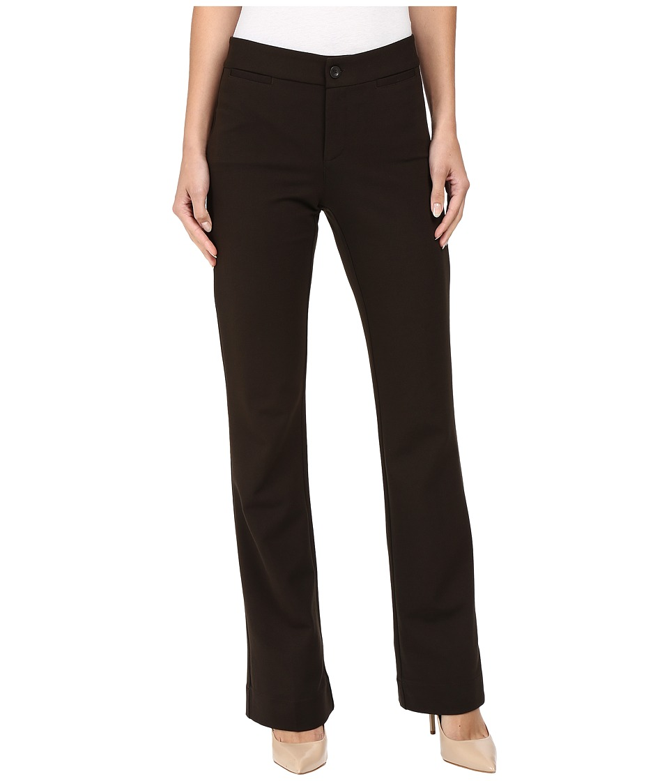 NYDJ - Michelle Ponte Trouser (Ganache) Women's Casual Pants