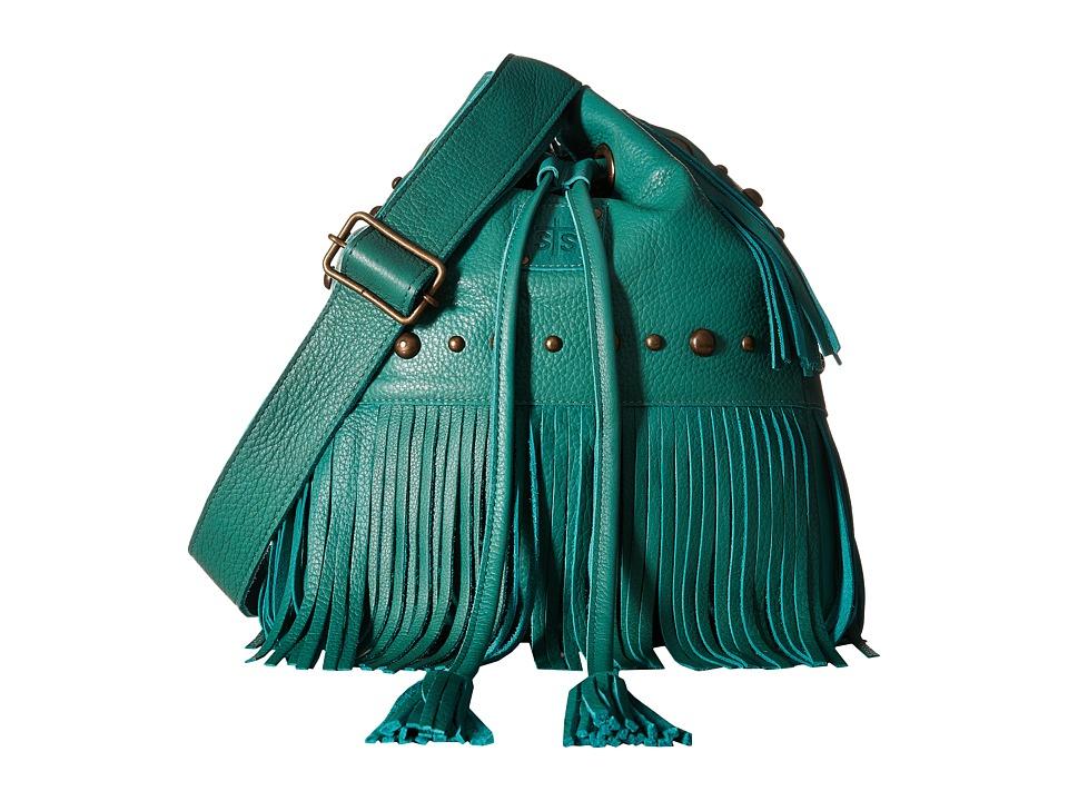 STS Ranchwear - The Free Spirit Bucket Bag (Jade) Handbags