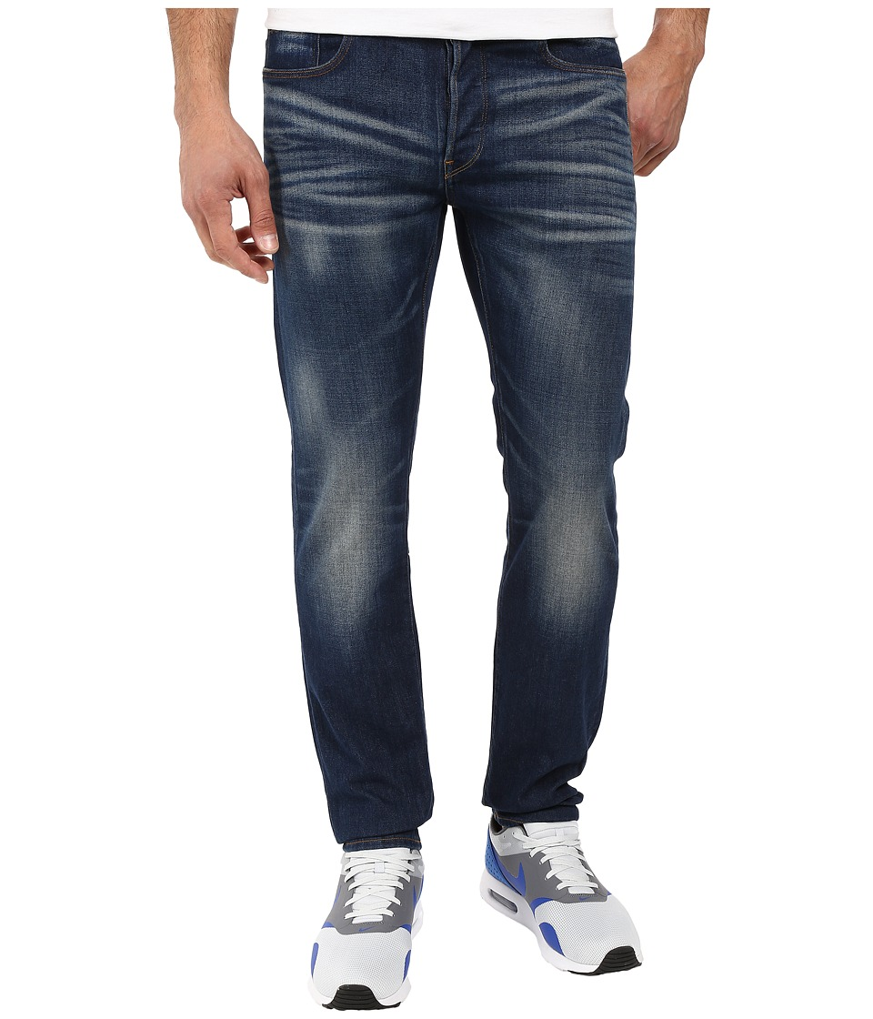 G-Star - 3301 Straight Fit Jeans in Gosk Stretch Denim Medium Aged (Medium Aged) Men's Jeans