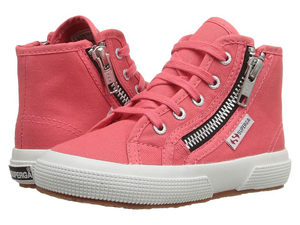Superga Kids - 2795 COTJ (Infant/Toddler/Little Kid/Big Kid) (Paradise Pink) Kid's Shoes