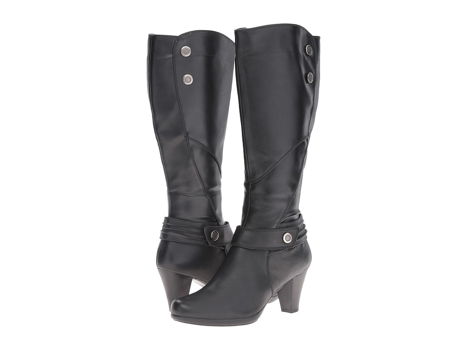 Spring Step - Maley (Black) Women's Pull-on Boots