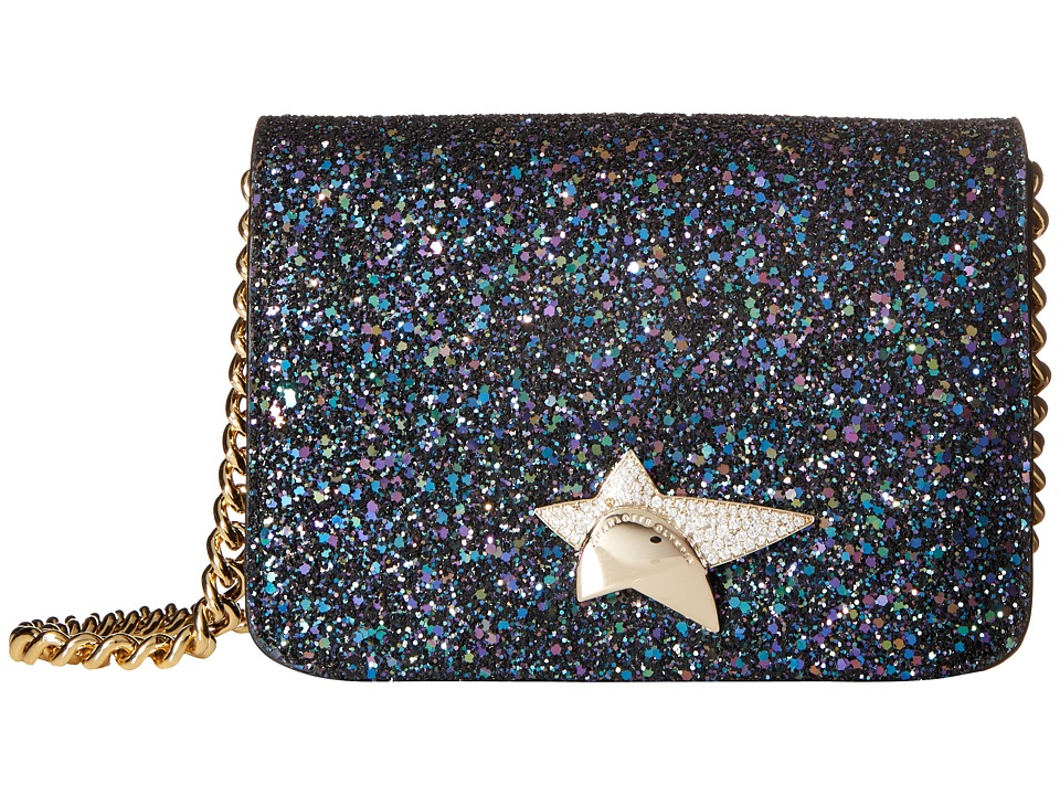 Charlotte Olympia - Sinatra (Night Sky Blue Glitter) Wallet Handbags