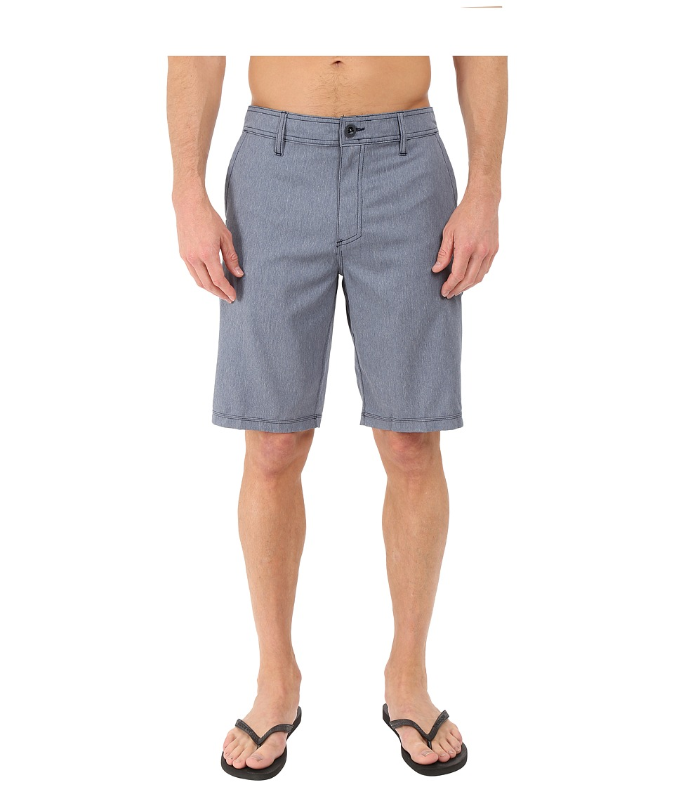 O'Neill - Loaded Texture Hybrid Shorts (Blue Heather) Men's Shorts
