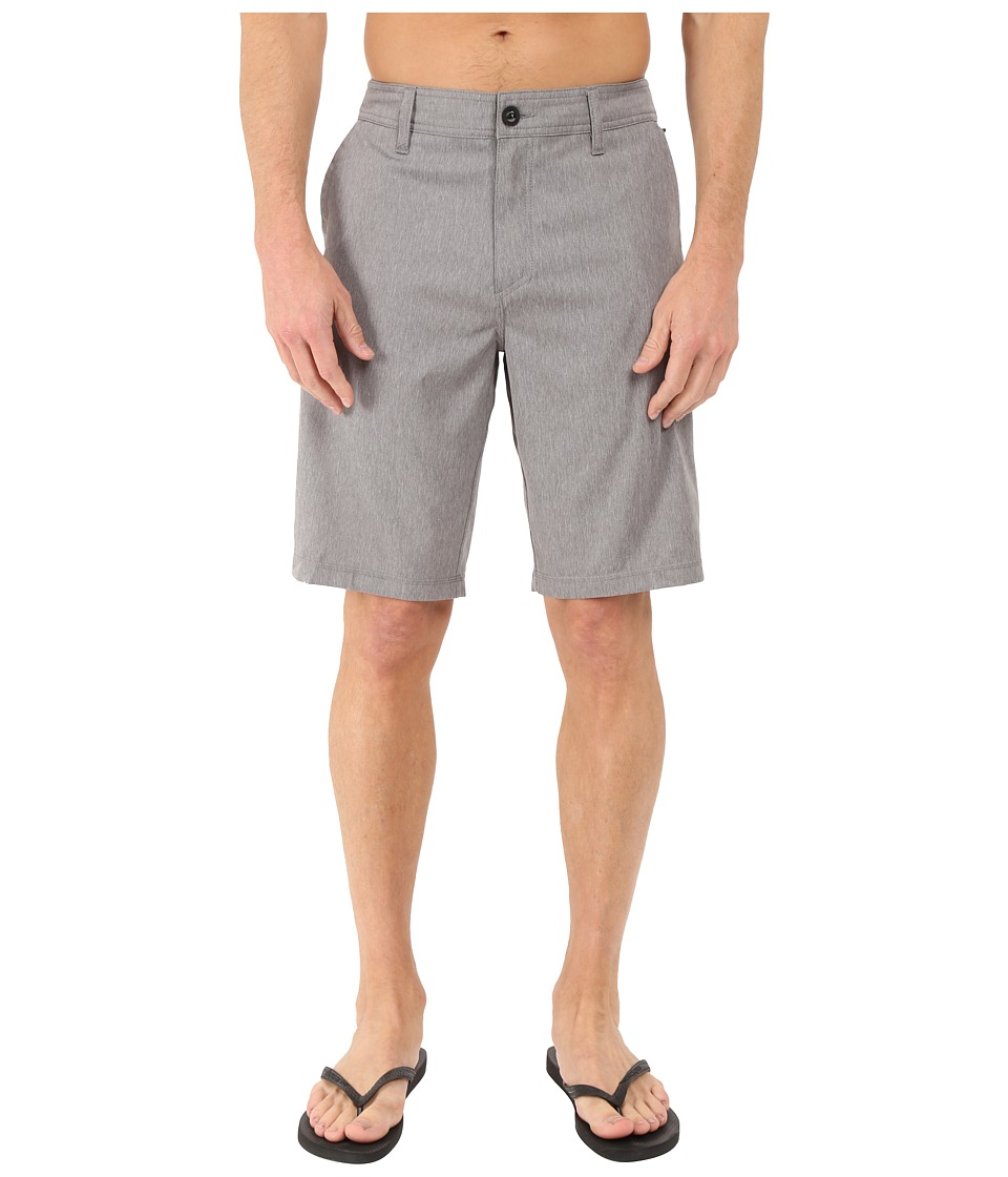 O'Neill - Loaded Texture Hybrid Shorts (Grey) Men's Shorts