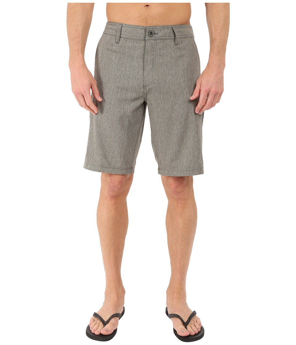 O'Neill - Loaded Texture Hybrid Shorts (Military Green) Men's Shorts