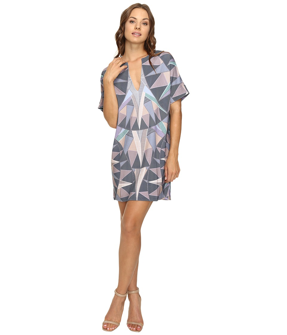 Mara Hoffman Compass Tunic Dress (Lavender Grey) Women