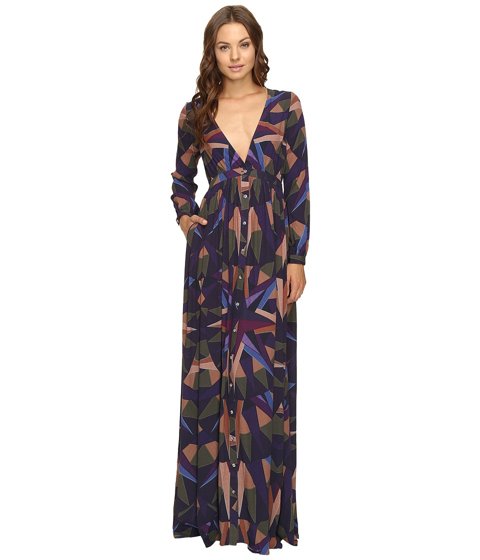 Mara Hoffman - Compass Maxi Dress (Olive) Women's Dress