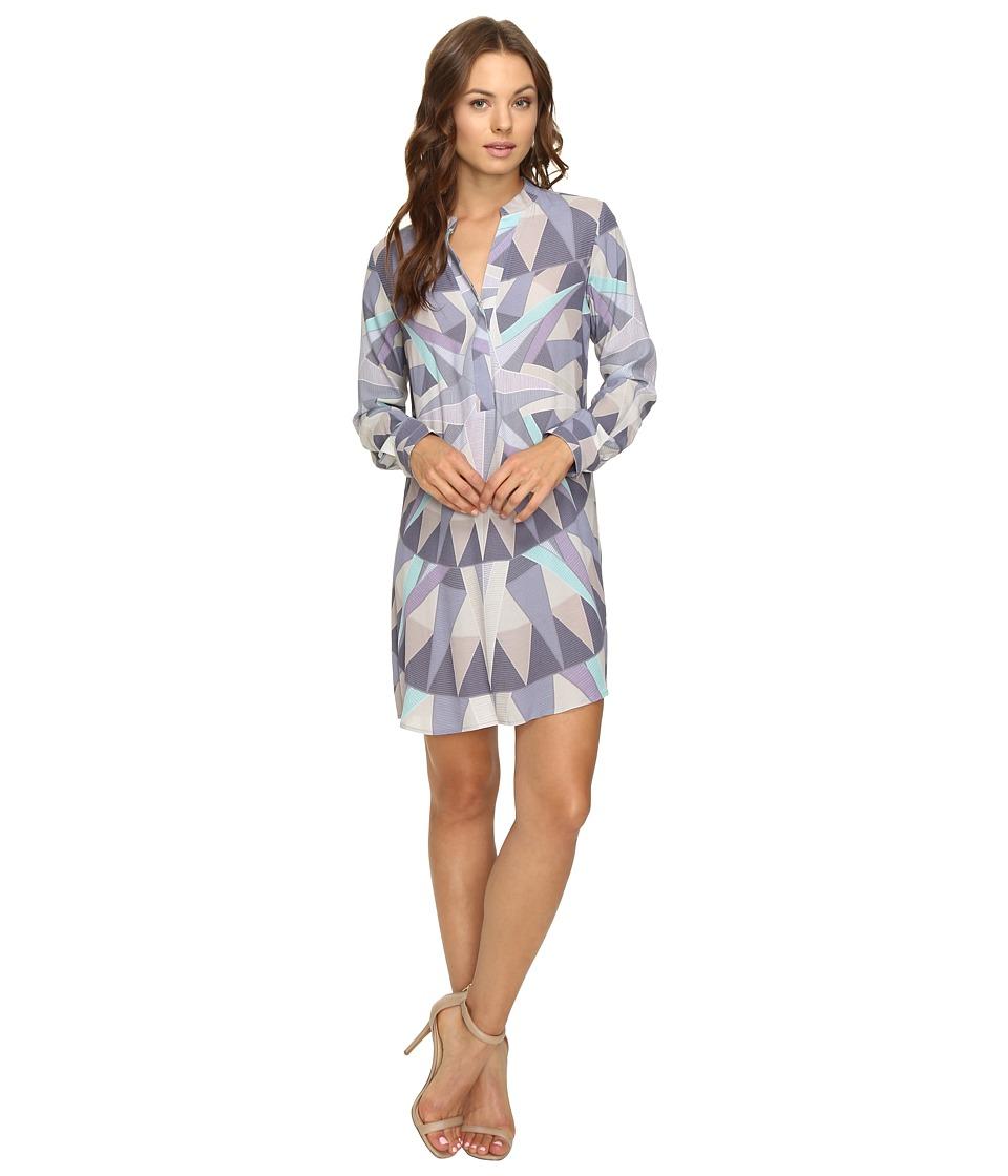 Mara Hoffman - Compass Shirtdress (Lavender Grey) Women's Dress