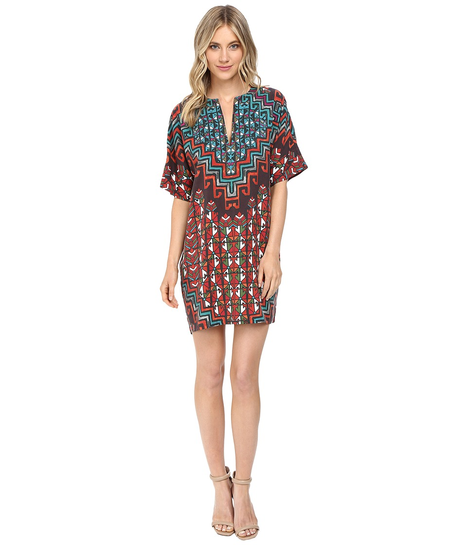 Mara Hoffman Rug Tencel Tunic Dress