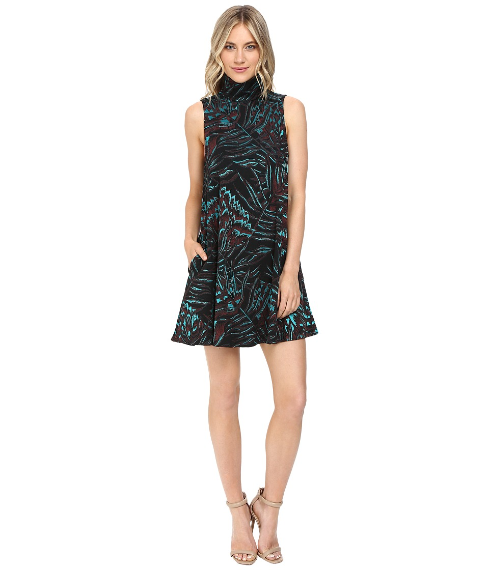 Mara Hoffman Herbarium Swing Dress (Teal Multi) Women