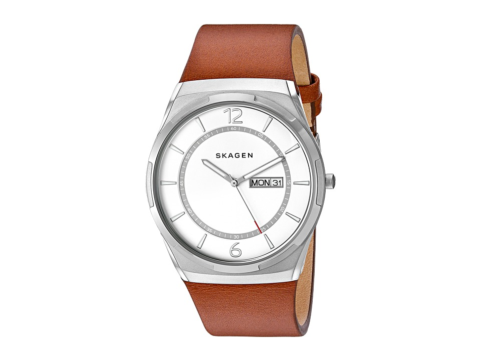 Skagen - Melbye SKW6304 (Tan/Gunmetal) Watches