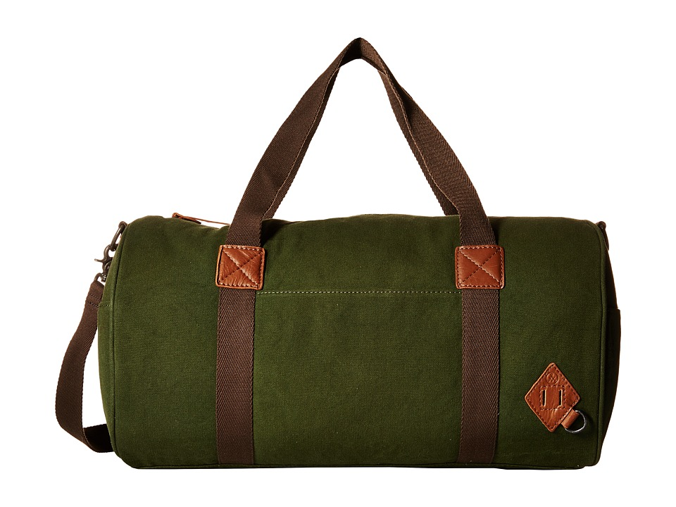 Alternative - Cotton Barrel Duffel (Olive) Duffel Bags