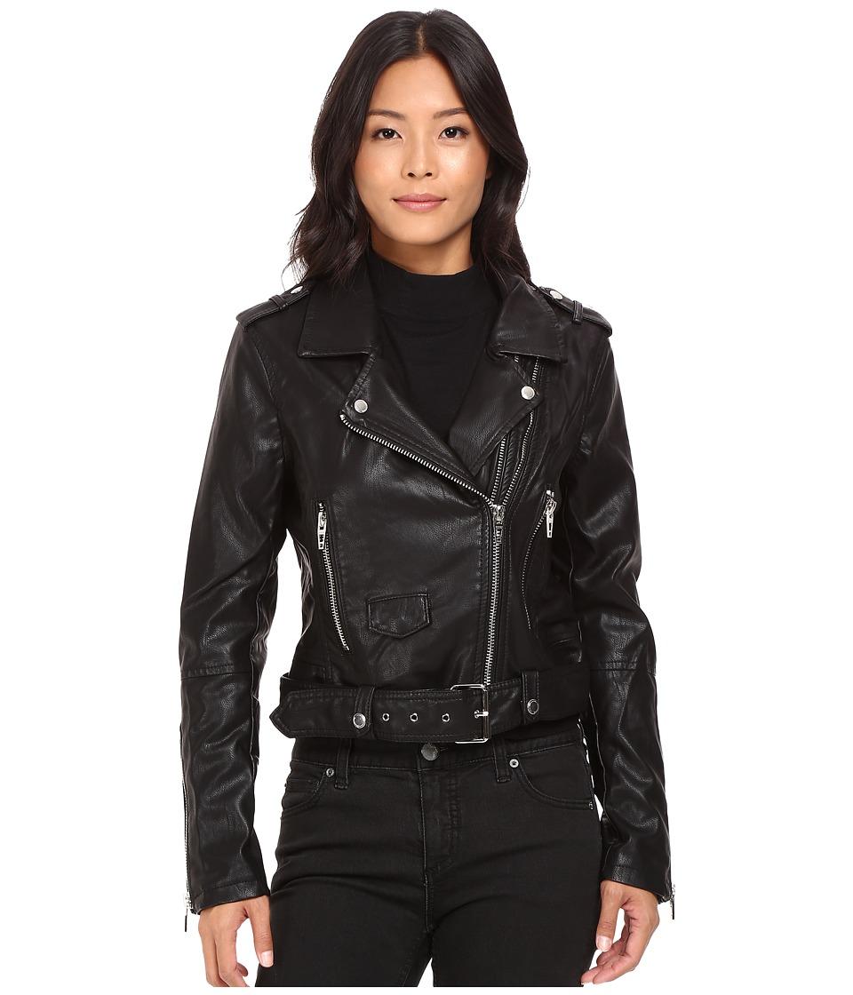 Blank NYC - Moto Jacket in Squad Goals (Black) Women's Coat