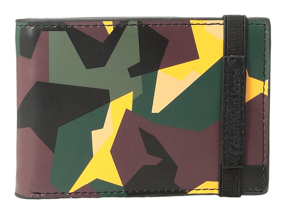 Calvin Klein - Slimfold with Elastic (Camo) Wallet