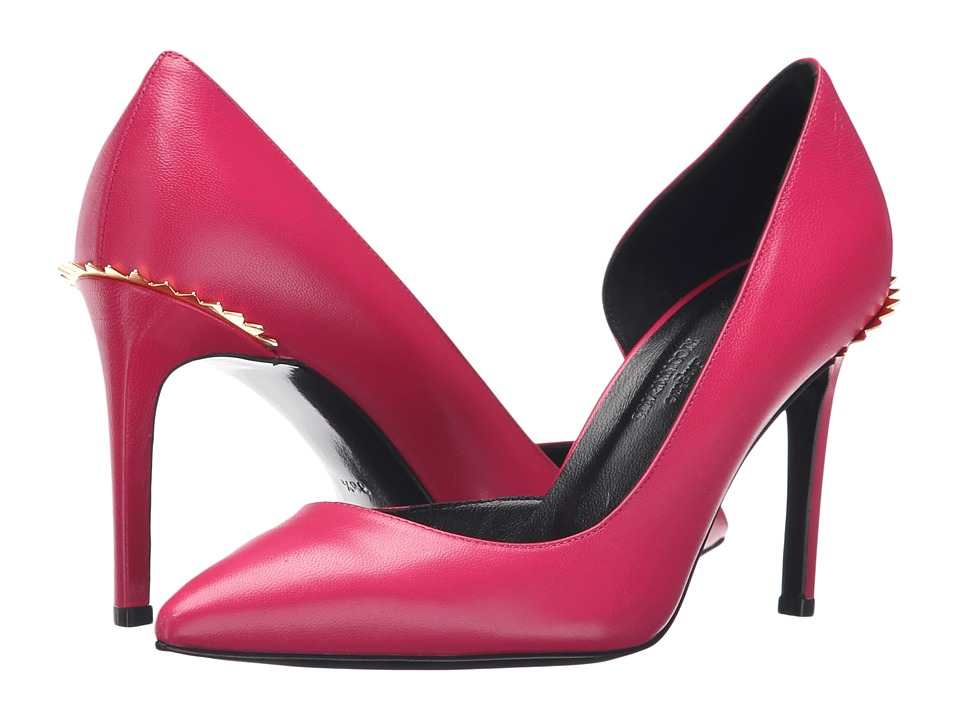 Eugene Riconneaus - 85mm Crown Pump (Fuchsia Suede) Women's Shoes