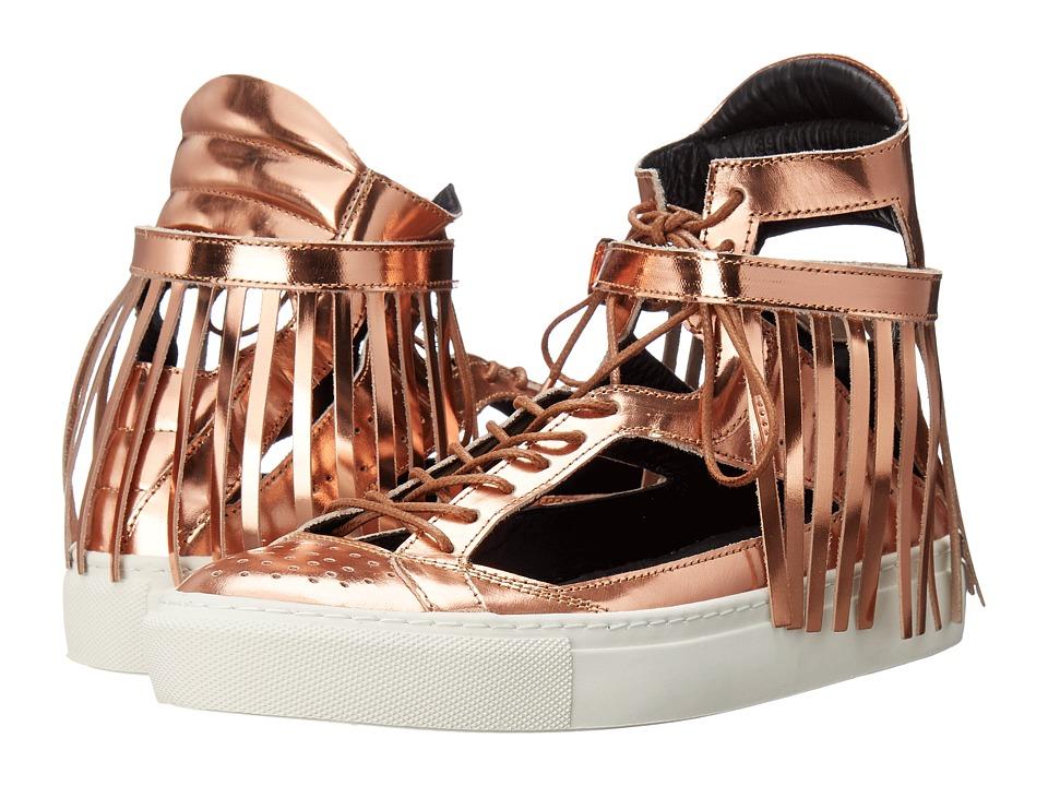 Eugene Riconneaus - Calcuta Open (Rose Gold) Women's Shoes
