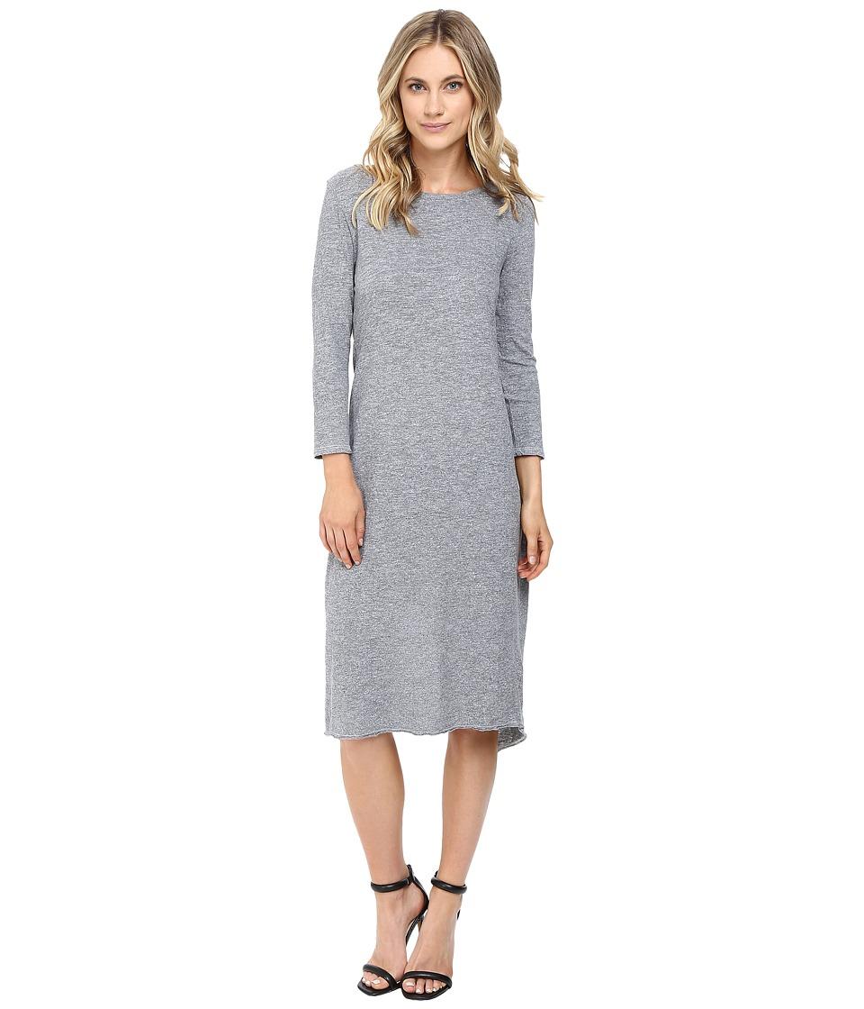 Lanston - Overlap Back Dress (Heather) Women's Dress