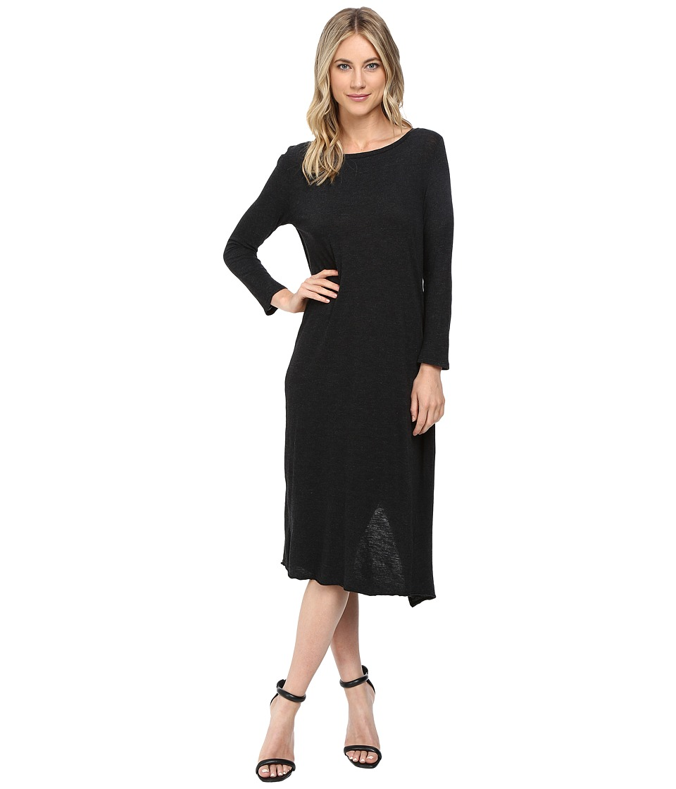 Lanston - Overlap Back Dress (Black) Women's Dress