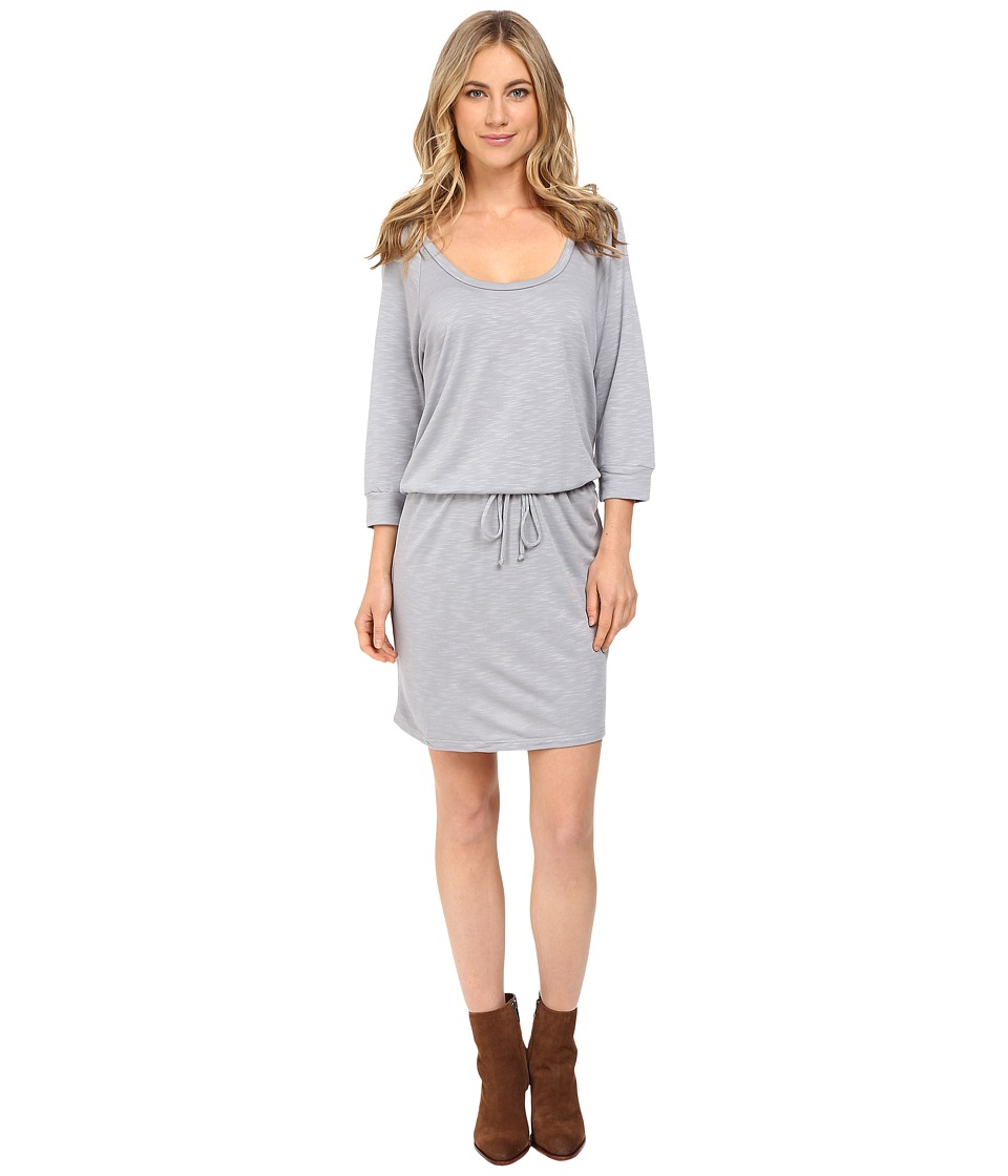 Lanston - Scoop Mini Dress (Oyster) Women's Dress