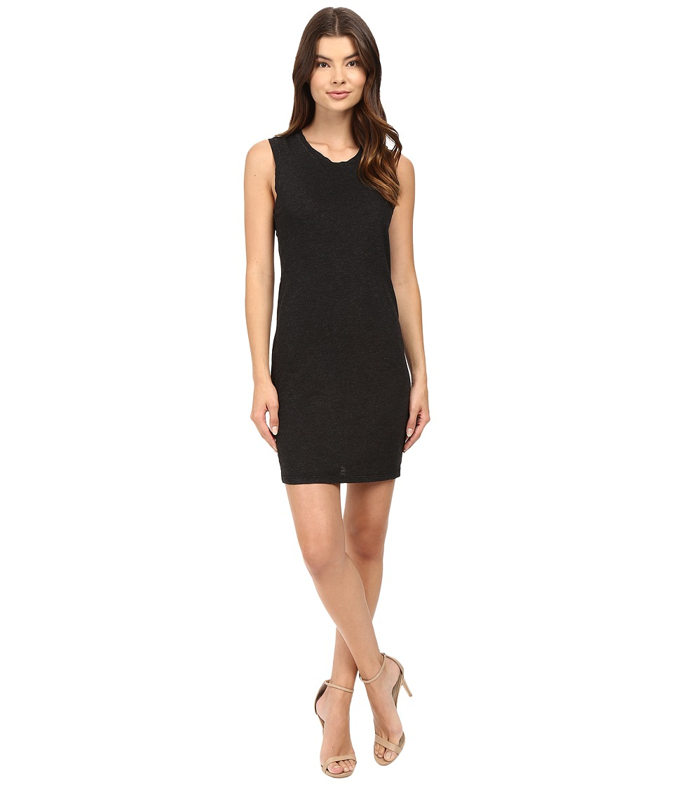 Lanston - Twist Back Dress (Black) Women's Dress