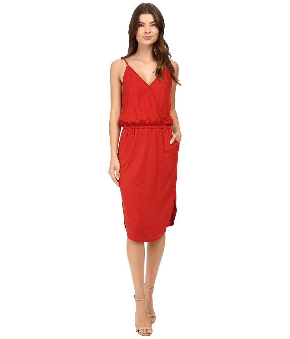 Lanston - Surplice Cami Dress (Russet) Women's Dress