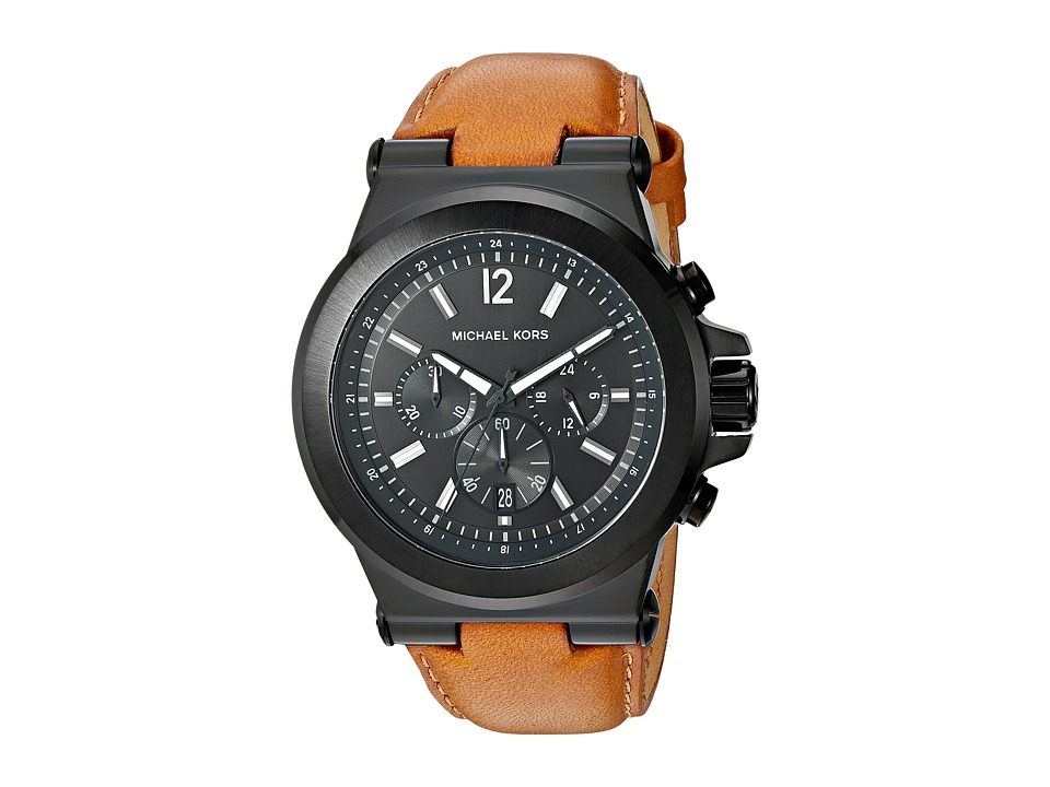 Michael Kors - MK8512 - Dylan (Brown/Black) Watches