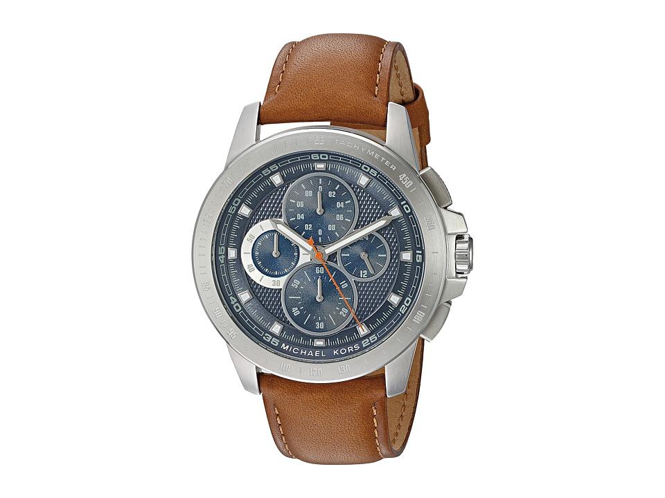 Michael Kors - MK8518 - Ryker (Brown/Stainless Steel) Watches