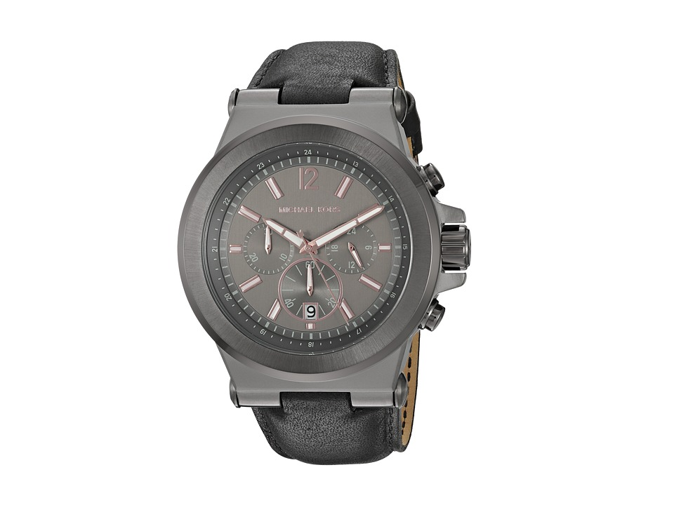 Michael Kors - MK8511 - Dylan (Black/Gunmetal) Watches