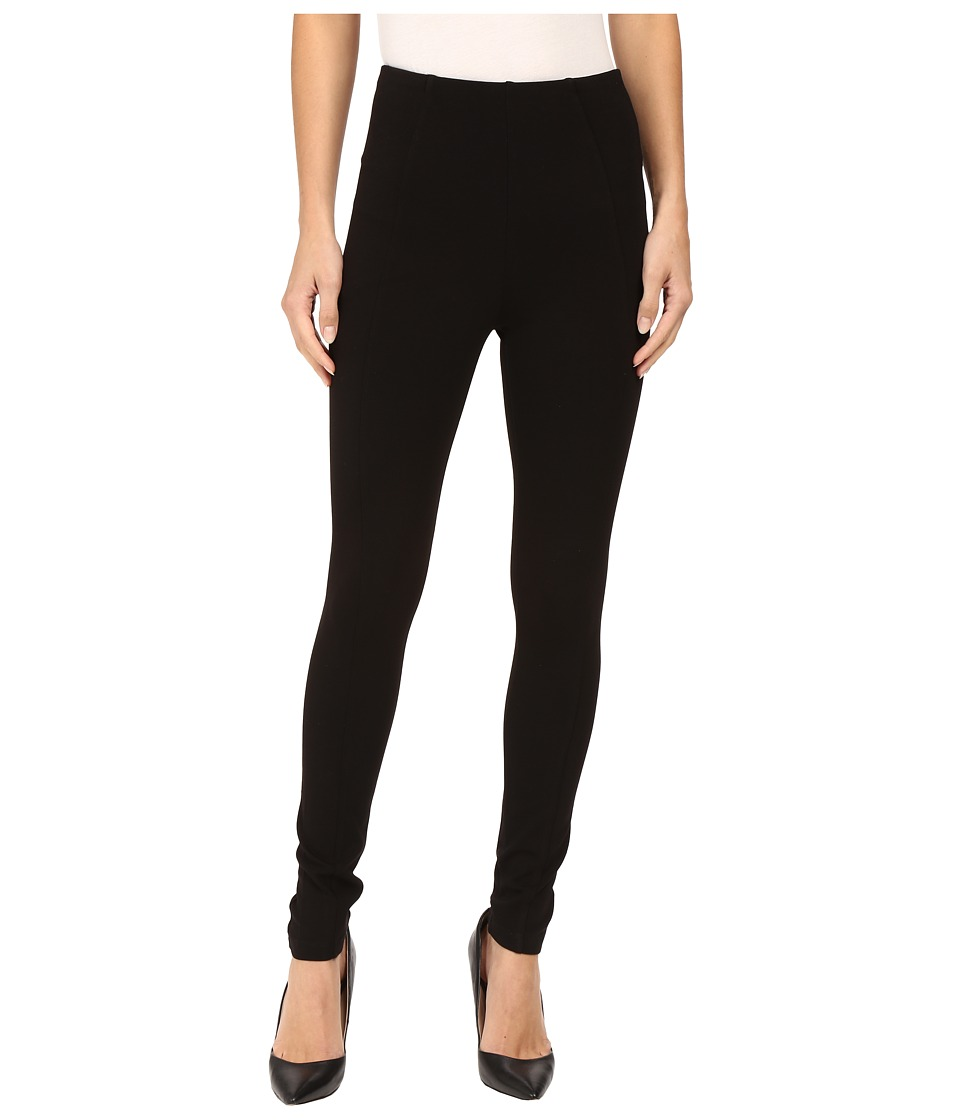 Liverpool - Reese Ankle Leggings with Slimming Waist Panel in Black (Black) Women's Jeans
