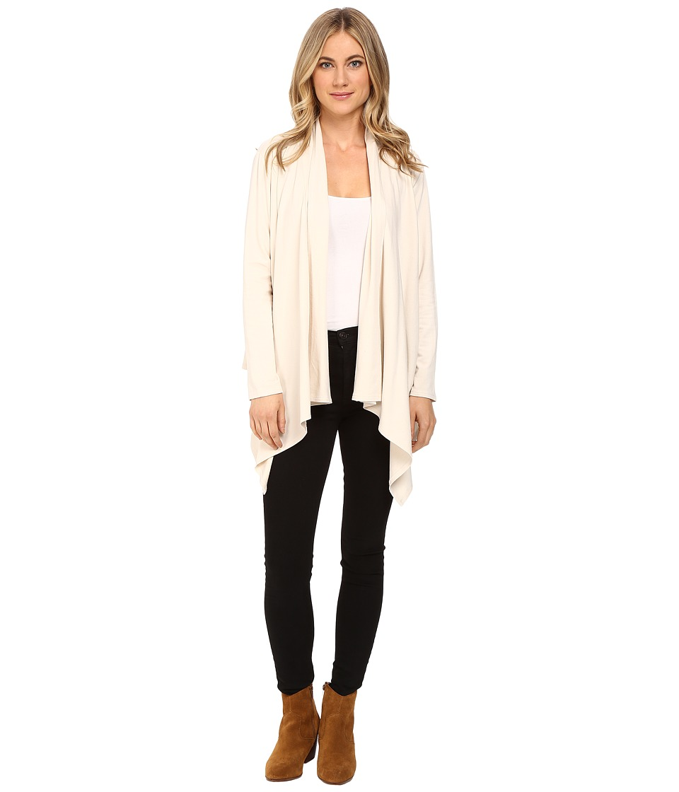 Lanston - Drape Cardigan (Cream) Women's Sweater