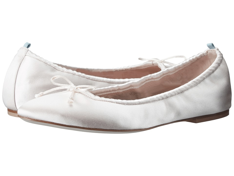 SJP by Sarah Jessica Parker - Gelsey Flat (Moonstone Satin) Women's Flat Shoes