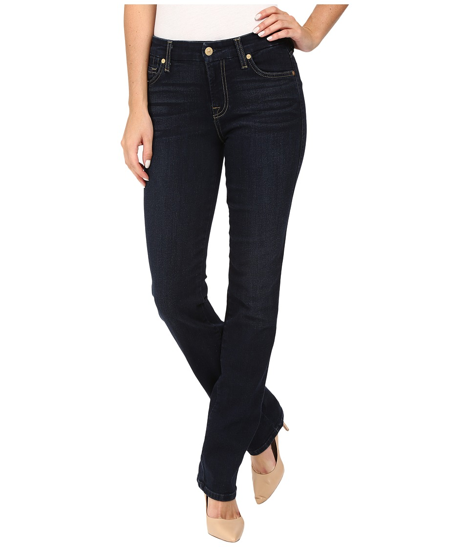 7 For All Mankind - Kimmie Straight in Dark Dusk Indigo (Dark Dusk Indigo) Women's Jeans