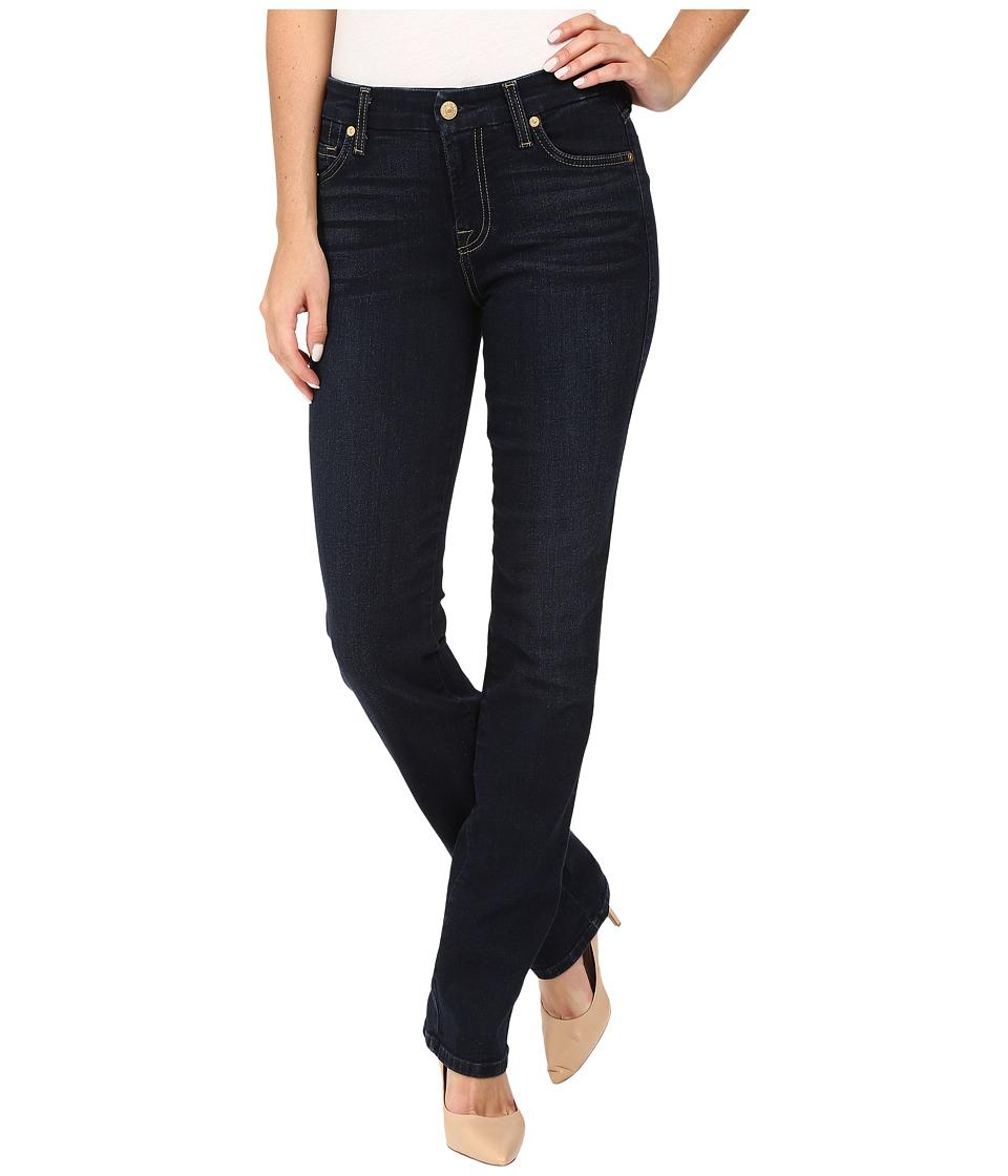 7 For All Mankind - Kimmie Straight in Dark Dusk Indigo (Dark Dusk Indigo) Women's Jeans
