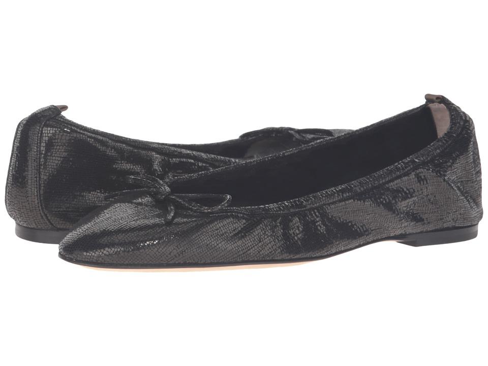 SJP by Sarah Jessica Parker - Gelsey Flat (Black Strap Metallic) Women's Flat Shoes