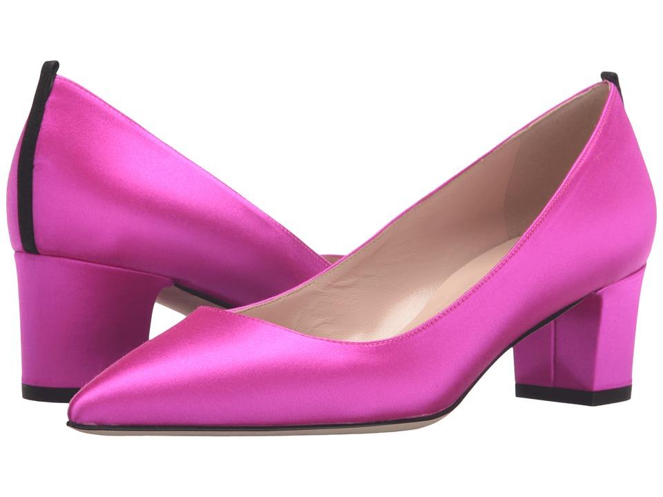 SJP by Sarah Jessica Parker Katrina (Candy Pink Satin) Women