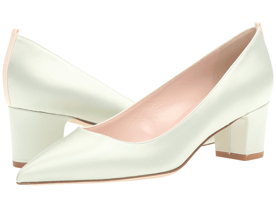 SJP by Sarah Jessica Parker - Katrina (Mint Green Satin) Women's Shoes