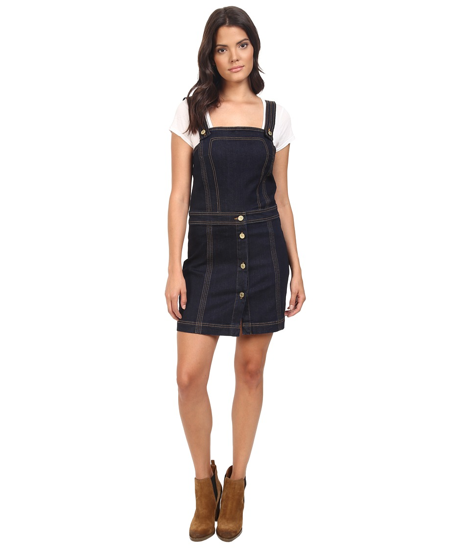7 For All Mankind - Pinafore Denim Dress in Clean Rinse (Clean Rinse) Women's Dress