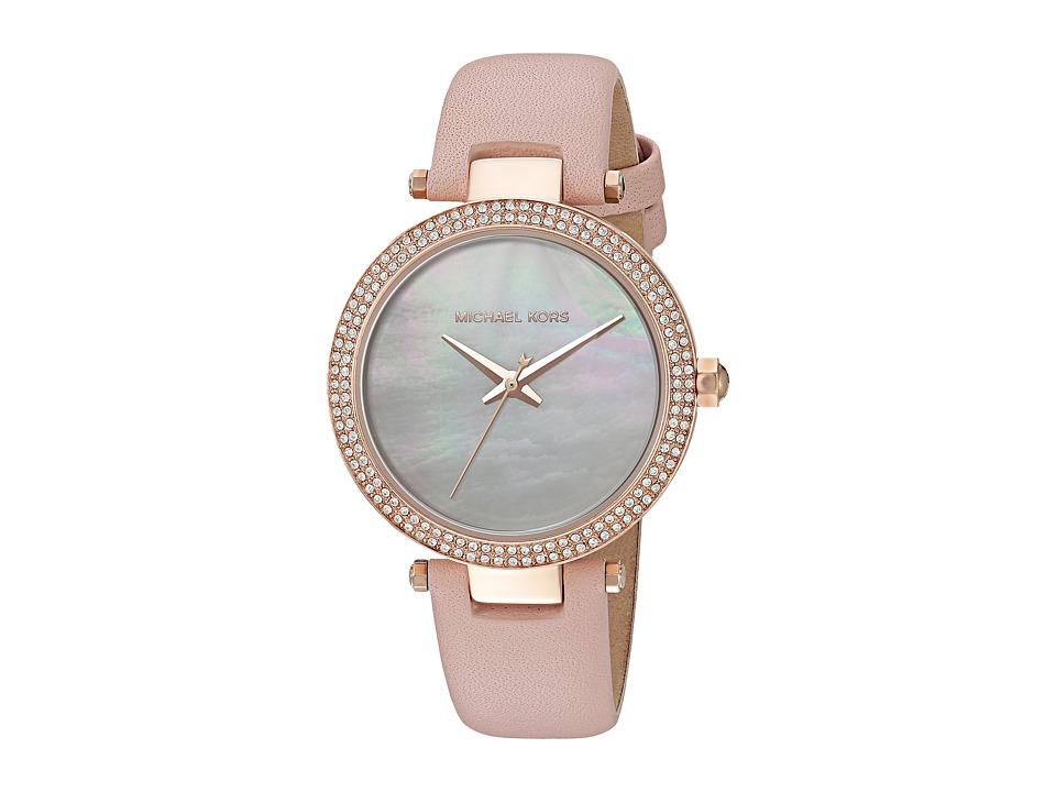 Michael Kors - MK2590 - Mini Parker (Blush/Rose Gold) Watches