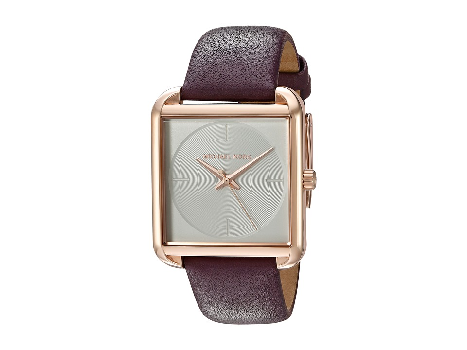 Michael Kors - MK2585 - Lake (Plum/Rose Gold) Watches