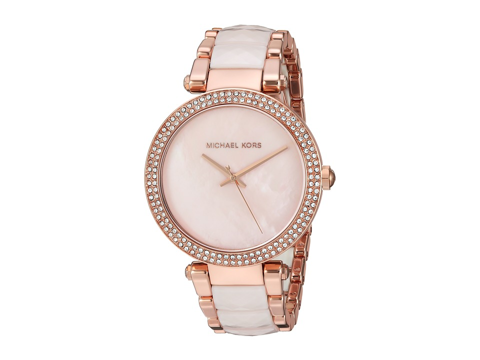 Michael Kors - MK6402 - Parker (Rose Gold) Watches